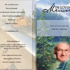 make your own funeral program funeral programs for funeral service funeral program