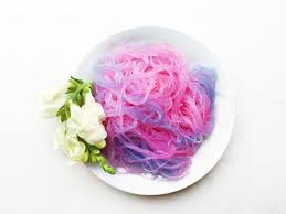 Different Shades Of Purple Names Quick And Simple Unicorn Noodles Theindigokitchen