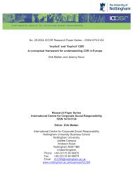 theoretical framework research paper implicit u0027 and u0027explicit u0027 csr a conceptual framework for