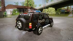 nissan terrano off road nissan terrano rb26dett police for gta san andreas