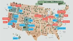 A Picture Of The Map Of The United States by Around The Us In 17 Labs Symmetry Magazine