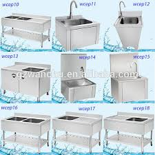 Commercial Kitchenware Stainless Kitchen SinkStainless Steel - Kitchen sink portable