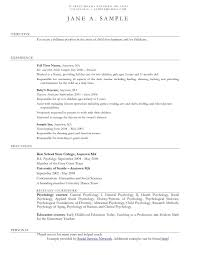 resume sample for nanny child care resume sample corybantic us child care provider resume template resume builder child care resume sample