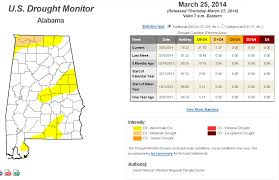 Us Drought Map Your Weekly U S Drought Monitor Update The Alabama Weather Blog