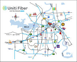 Louisiana Cities Map by Uniti Fiber Takes On Shreveport Telecom Ramblings