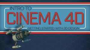 intro to cinema 4d getting started with 3d design aaron