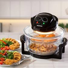buy the daewoo halogen air fryer low fat oven with 12l capacity