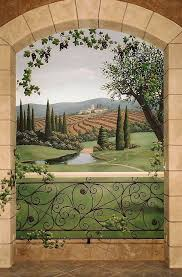 297 best mural designs images on pinterest mural ideas wall wine rooms mural of tuscany win regions jeff raum