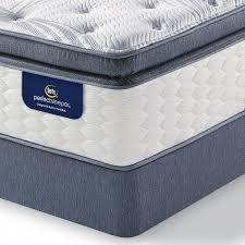 Pillow Top Mattress Covers Serta 92714 Perfect Sleeper Walworth Plush Twin Super Pillowtop