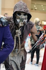 Freeze Halloween Costume Scarecrow Cosplay Absolutely Terrifying Batman Arkham