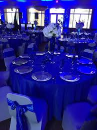 royal blue and silver wedding blue uplights royal blue wedding silver wedding by eventsojudith