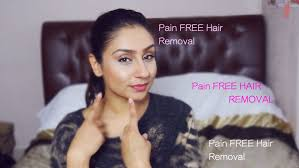 best pain free hair removal for face legs under arms