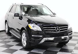 mercedes m suv 2015 used mercedes m class certified ml350 4matic awd suv