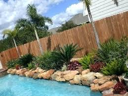 Backyard Pool Landscape Ideas Tropical Backyard Landscape Best Tropical Backyard Ideas On