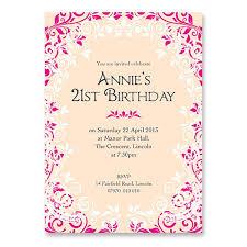 u0027s 21st birthday invitation girls birthdays