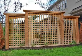 Backyard Privacy Screens by Garden Design Garden Design With Hometalk Creating Backyard