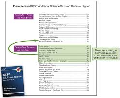 are you taking route 2 aqa gcse additional science exams cgp books