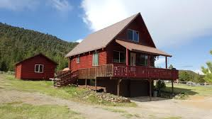 year around cabin for sale over looking mammoth creek