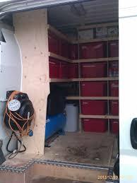 Shelves For Vans by Van Racking Thisiscarpentry