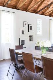 white wall ideas dining room transitional with iron silver wall