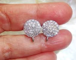 invisible earrings for school 48 clear plastic earring posts invisible earring findings studs