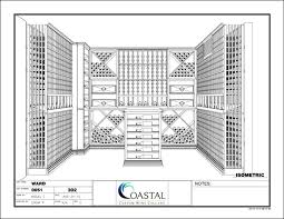 wine cellar floor plans distinctive custom wine cellars and commercial wine racking