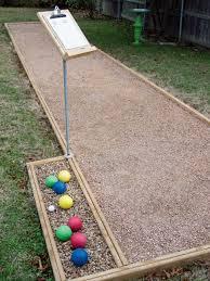 Backyard Foam Pit Build An Outdoor Bocce Court Hgtv