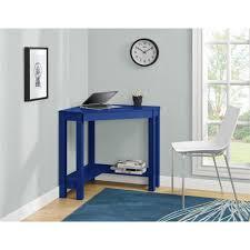 Blue Computer Desk Corner Desks Home Office Furniture The Home Depot