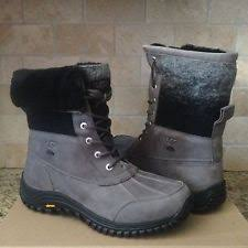 ugg womens adirondack ii boot print ugg australia s leather 5 5 us shoe size s ebay
