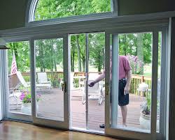 Standard Patio Door Size Curtains by Sliding Glass Door Curtains Right Choice For Sliding Glass Door