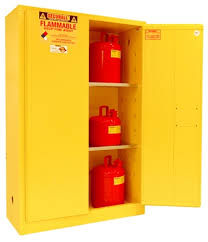 Yellow Flammable Storage Cabinet A145 45 Gal Flammable Cabinet Flammable Safety Storage
