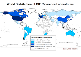 Animal World Map by Map And Networks Oie World Organisation For Animal Health