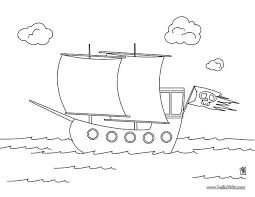 pirate boat coloring pages hellokids