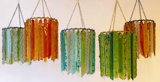Green Pendant Light Shade Summer Lovin Lights Recycled Glass Chandeliers And Ls