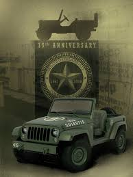 jeep willys 2016 jeep wrangler 75th salute concept is a modern day willys mb