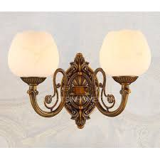 Modern Bathroom Wall Sconce Alabaster Shade 2 Light Modern Bathroom Wall Sconces Antique Brass