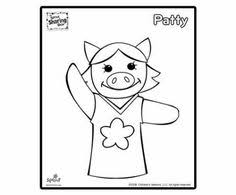 Patty Coloring Page Sprout Sharing Show Coloring Pages For Kids Sprout Coloring Pages