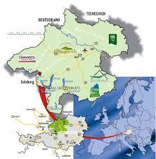 Pullman Washington Map by Upper Austria Tourist Map Austria U2022 Mappery