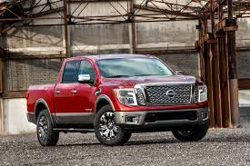red nissan 2017 2017 nissan titan rolling out