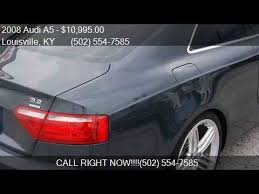audi a5 awd 2008 audi a5 quattro awd 2dr coupe 6m for sale in louisville