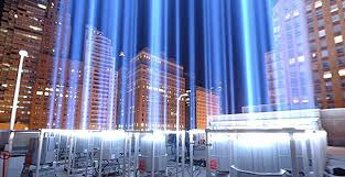 world trade center lights 10th anniversary tribute in light battery park city news