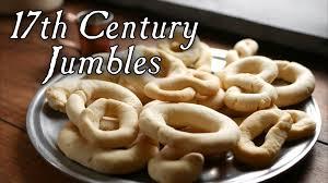 17th century cuisine makes 17th century jumbles
