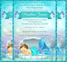 mermaid baby shower invitations mermaid baby shower invitations adorable mermaid baby shower