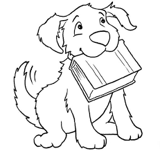 30 dog coloring pages images coloring sheets