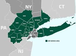 Connecticut On Map Map Of Tri State Ny Nj Ct My Blog
