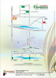 Greater Noida Metro Map by Panchsheel Greens 2 Noida Extension Greater Noida West