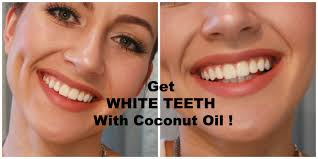 how to whiten your teeth with coconut oil youtube