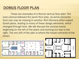 domus floor plan domus a house in the city for wealthy romans villa a