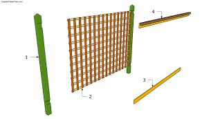 outdoor trellis plans plans diy free download free wood craft