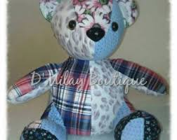 remembrance teddy bears memory etsy